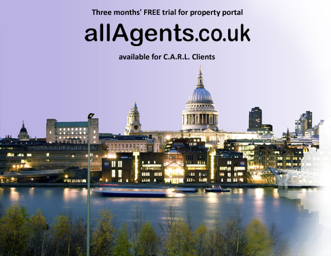 Free 3 month trial of allAgents property portal
