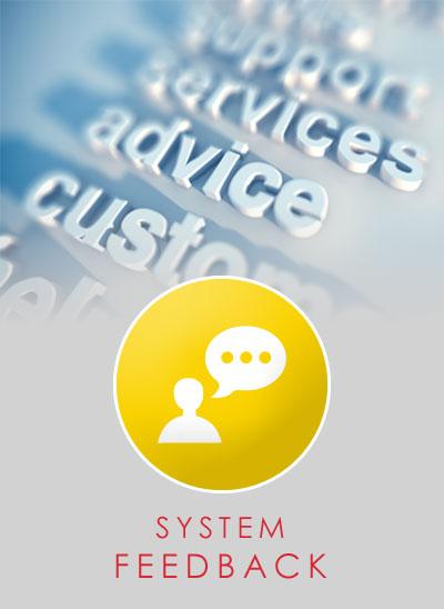 System Feedback